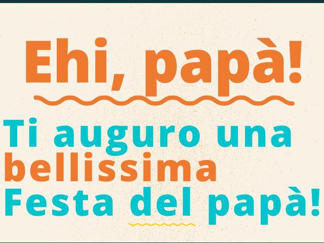 frasi della festa del papà