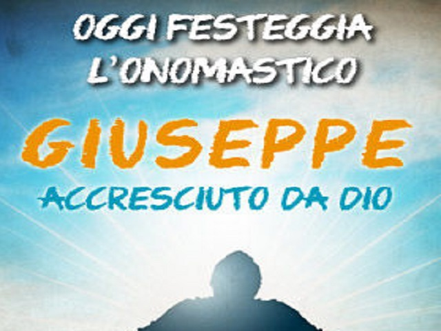 giuseppe onomastico 16