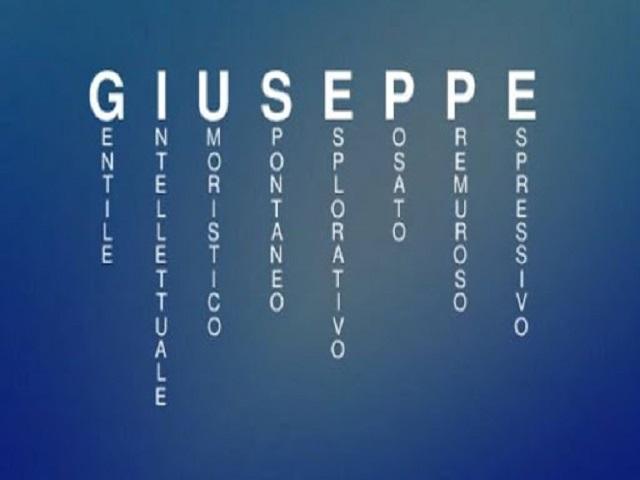 giuseppe onomastico 2