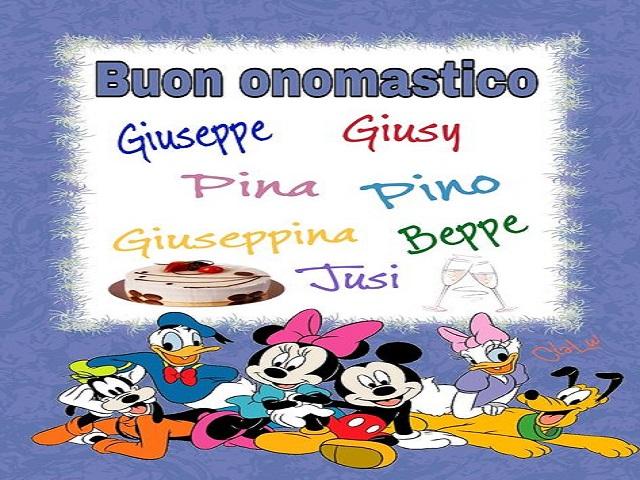 giuseppe onomastico 7