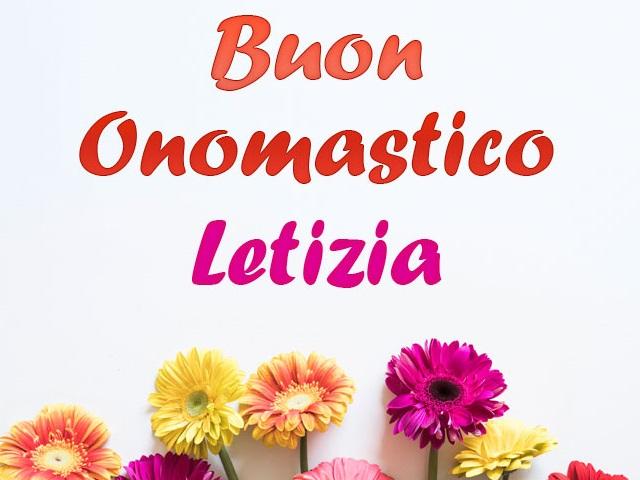 letizia etimologia