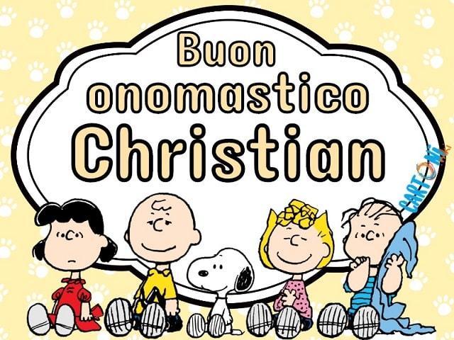 onomastico christian nome