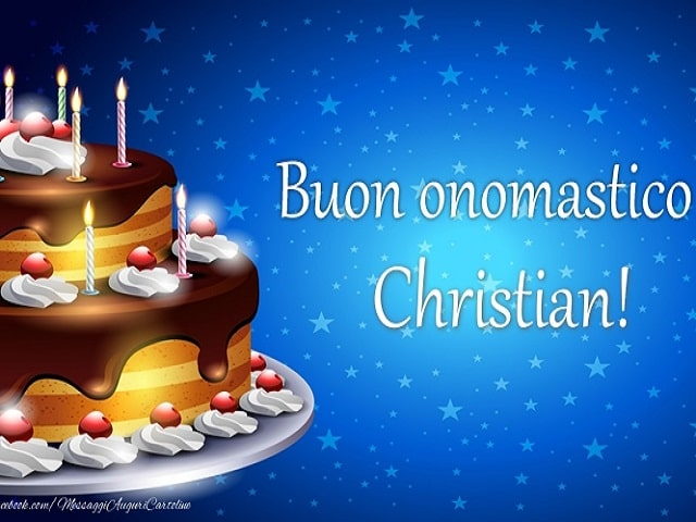 onomastico cristian