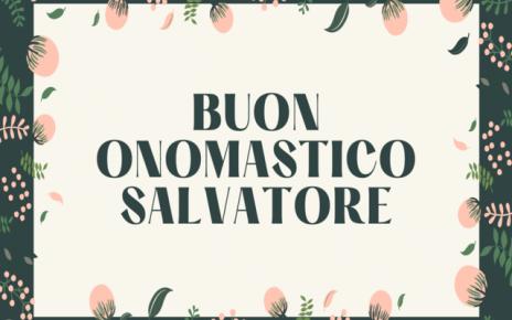 onomastico di Salvatore