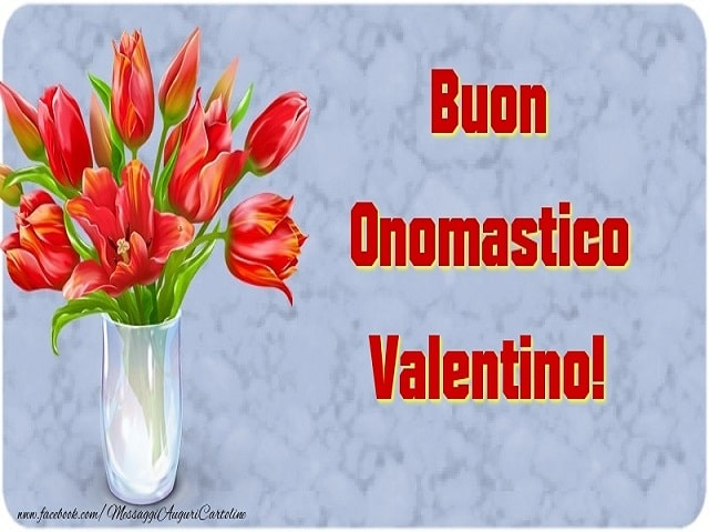 onomastico San Valentino