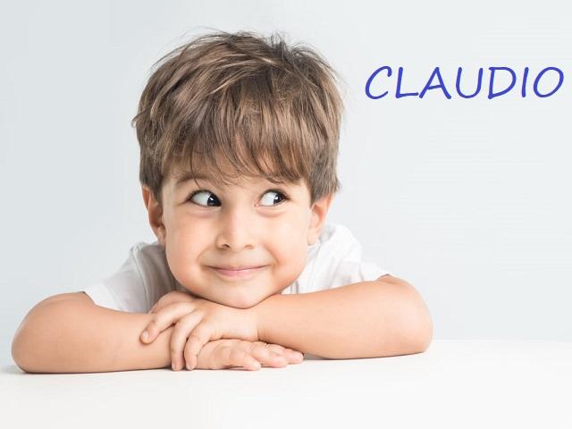 origine nome claudio