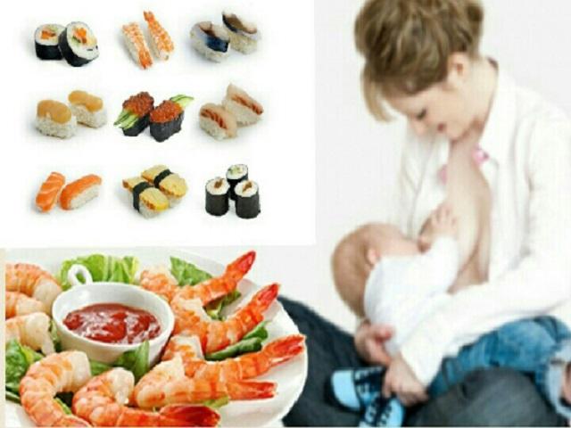 pesce crudo allattamento 1