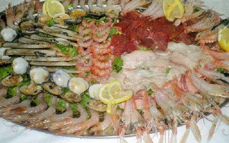 pesce crudo allattamento