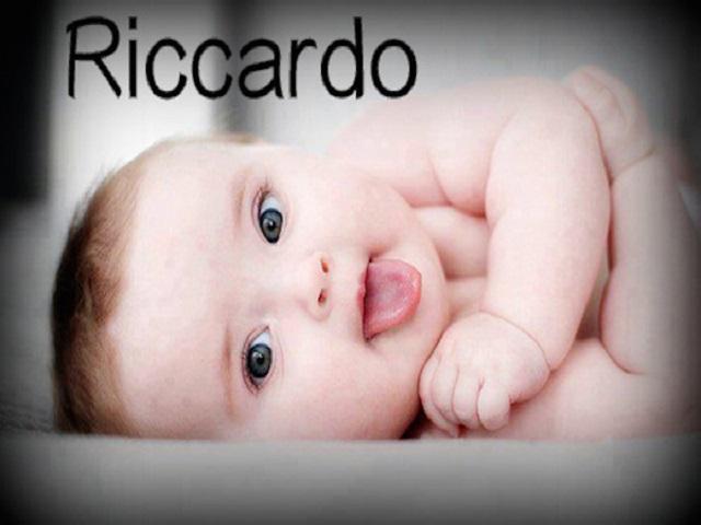 origine e significato Riccardo