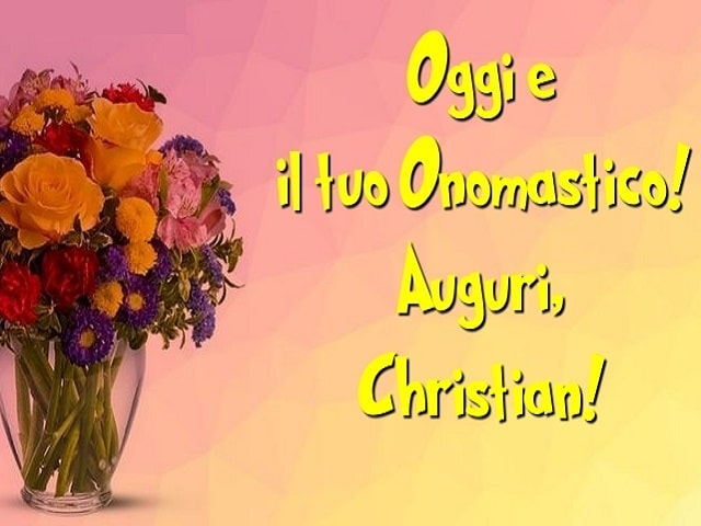san christian onomastico