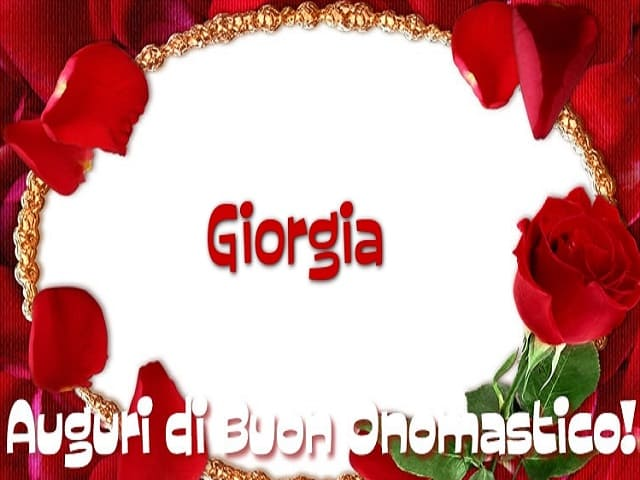 Santa Giorgia onomastico