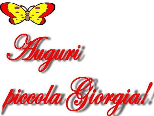 significato nomi Giorgia