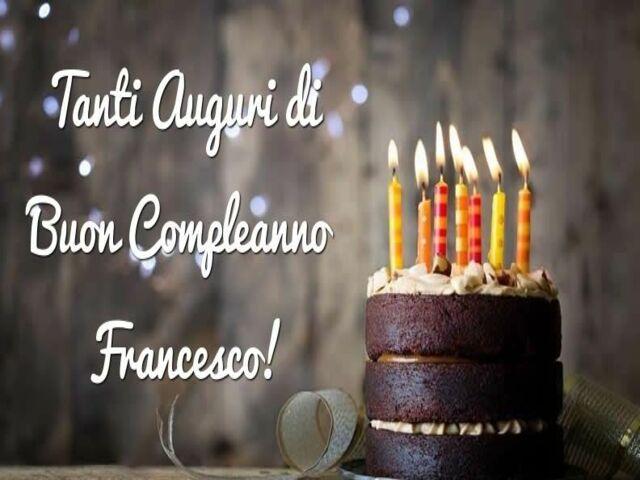 torta compleanno Francesco