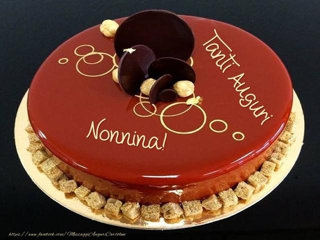 torta di compleanno nonna