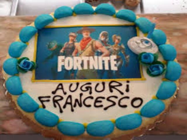 torta Francesco auguri