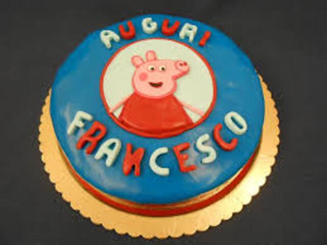 torta peppa Francesco