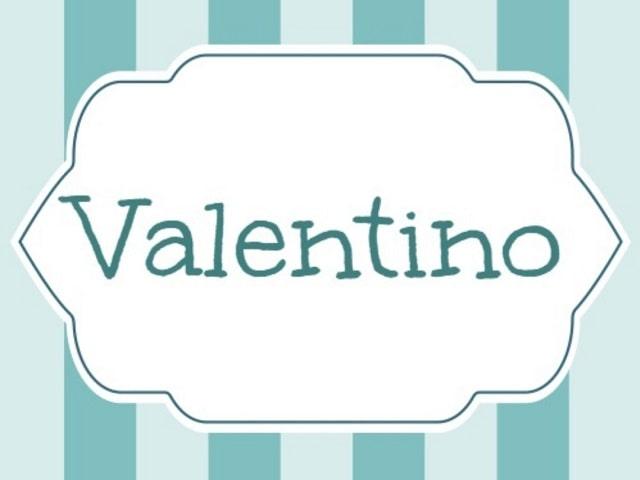 Valentino nome