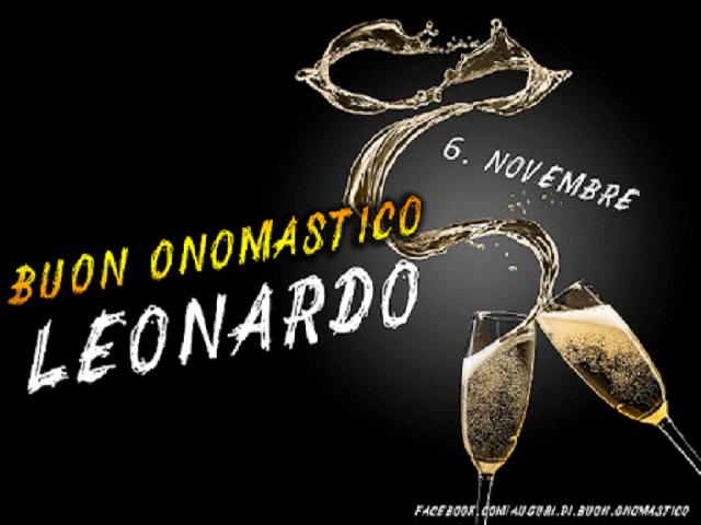 6 novembre onomastico leonardo