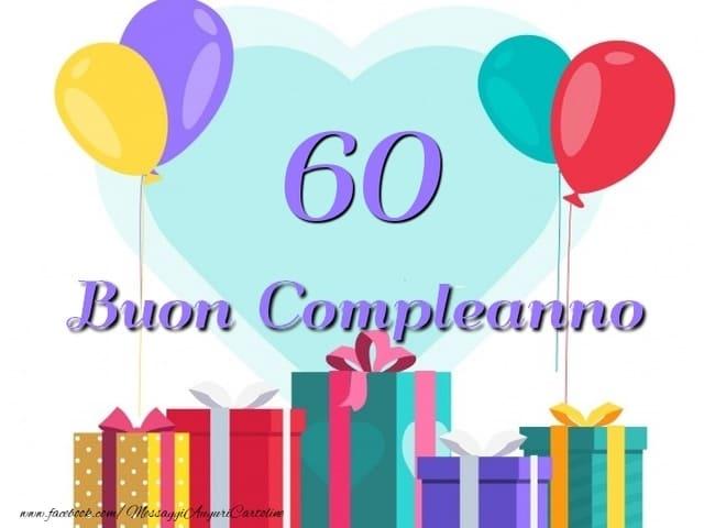 60 compleanno immagini