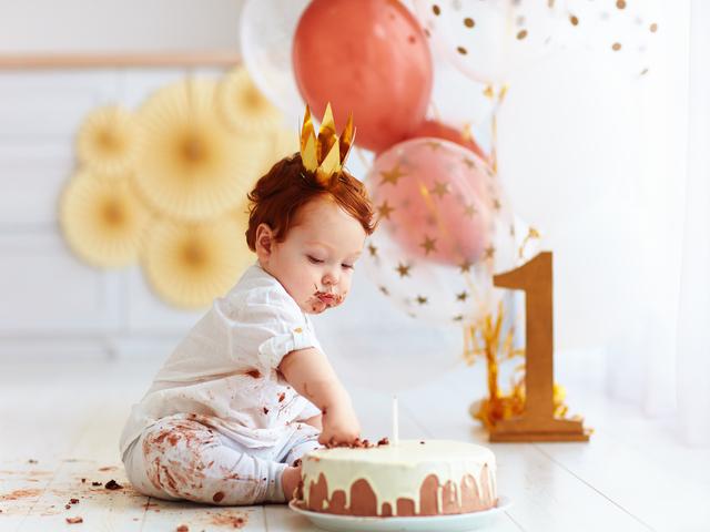 Auguri primo compleanno bimbo