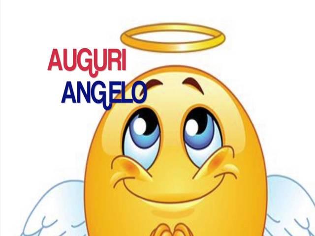 auguri ad angelo