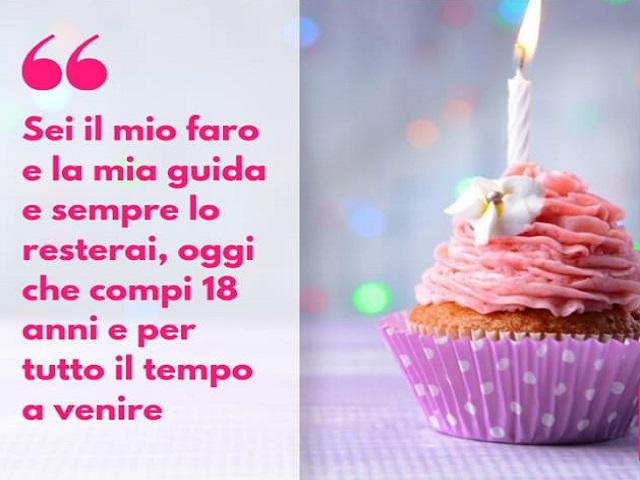 auguri di buon compleanno 18 anni