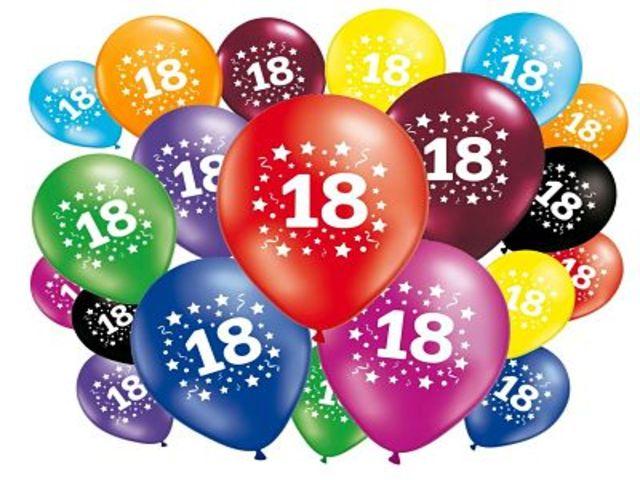 auguri di compleanno 18 anni 1