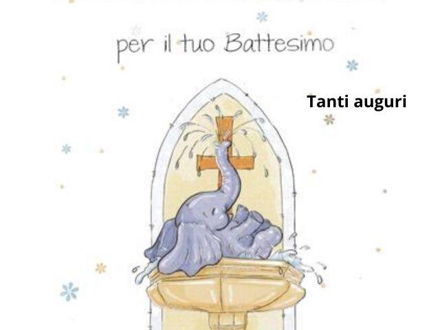biglietti battesimo