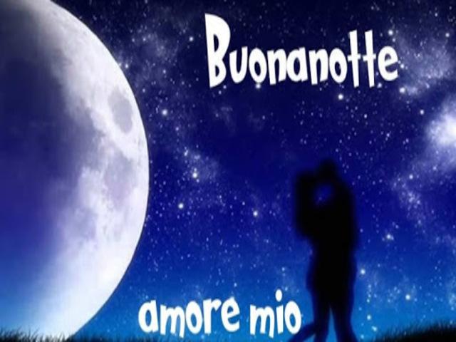 buona notte amore