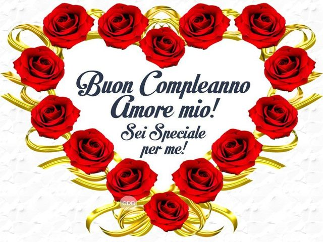 compleanno amore