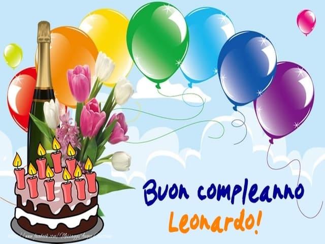 compleanno Leonardo
