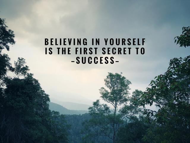 credere se stessi