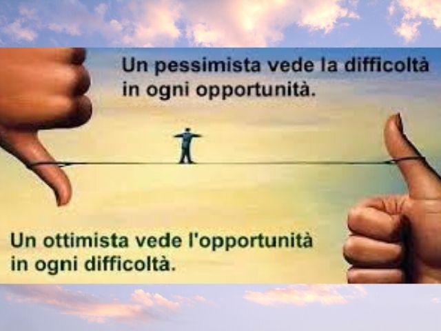 frase ottimista