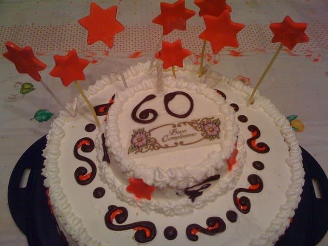 frasi 60 torta