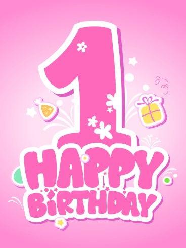 frasi auguri primo compleanno bimba