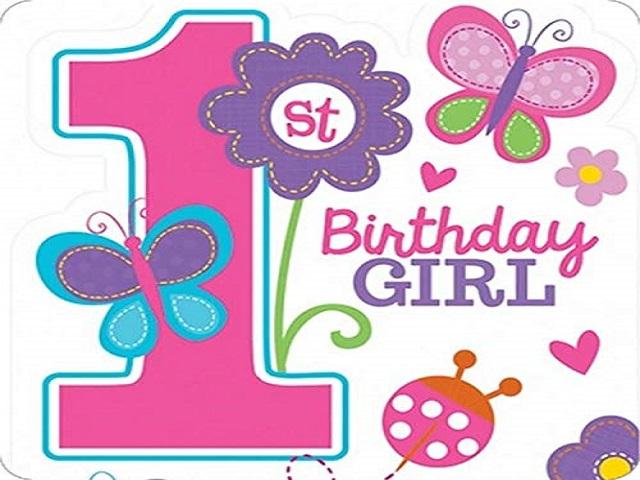 frasi di auguri primo compleanno bimba