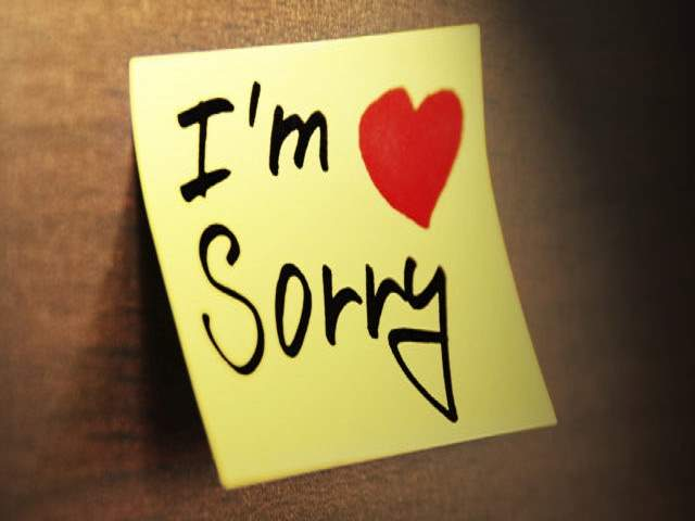 frasi di scuse per lei