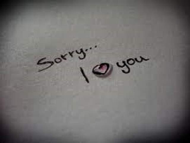 frasi di scuse per lui
