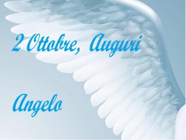 onomastico sant angelo