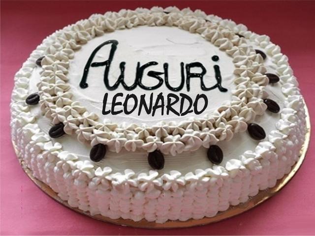 torta leonardo compleanno