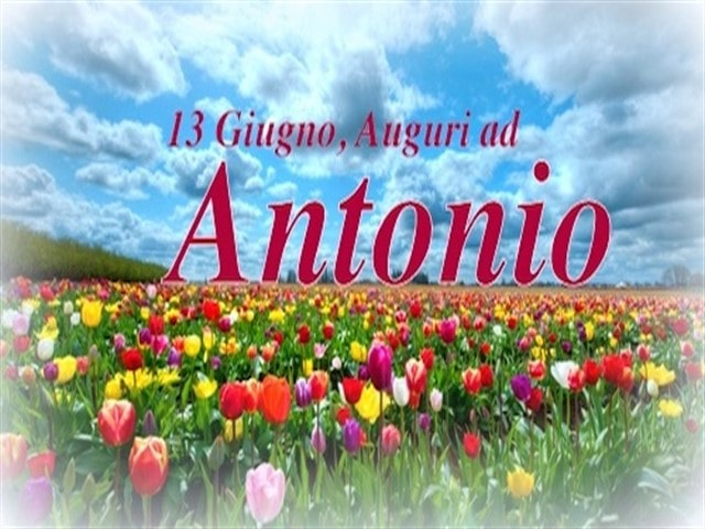 auguri di buon onomastico Antonio divertenti