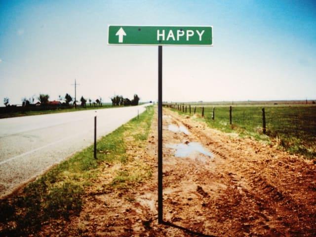 Trovare la felicità