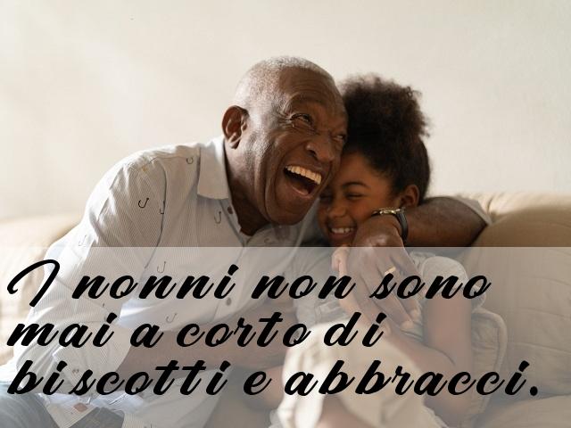 abbracci nonni