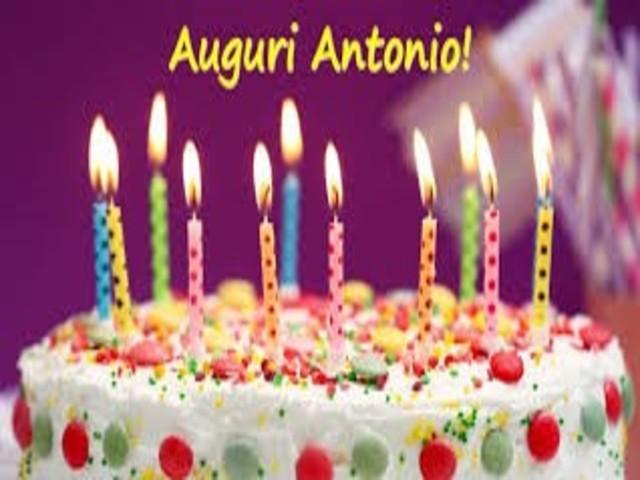 spesso Buon Compleanno Antonio: frasi, immagini e video di auguri - A CO43