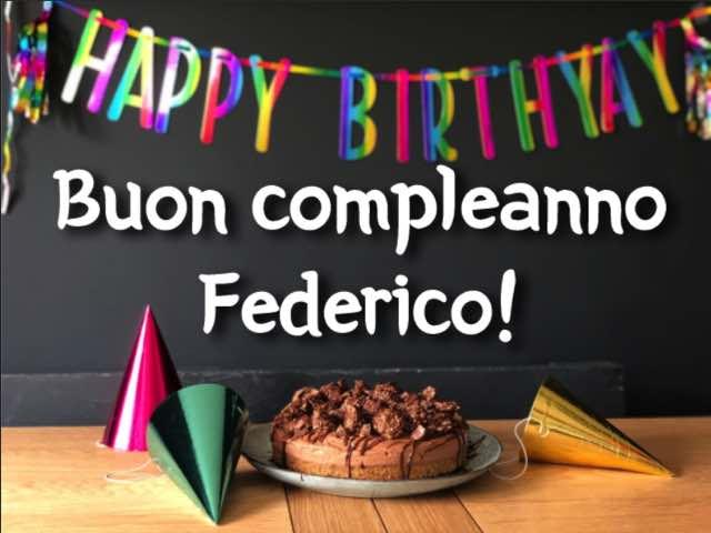 auguri federico buon compleanno
