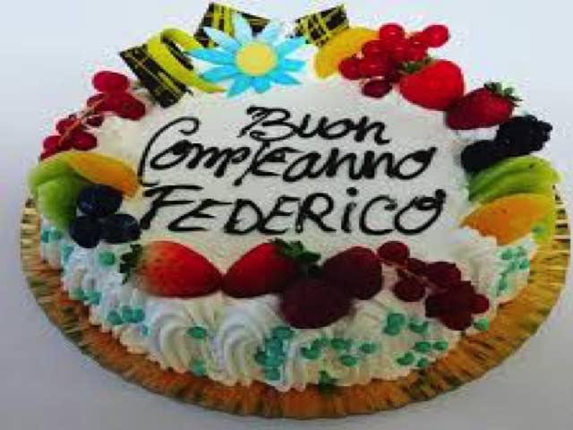 auguri federico torta