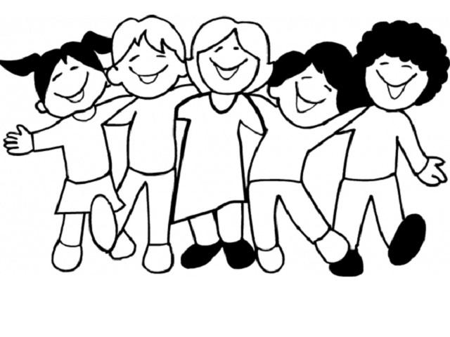 bambini da colorare