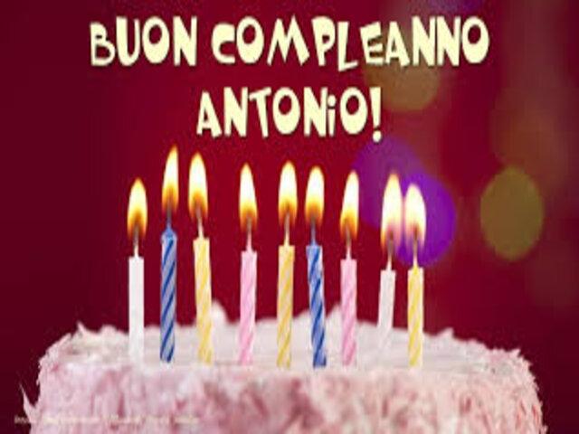 buon compleanno Antonio