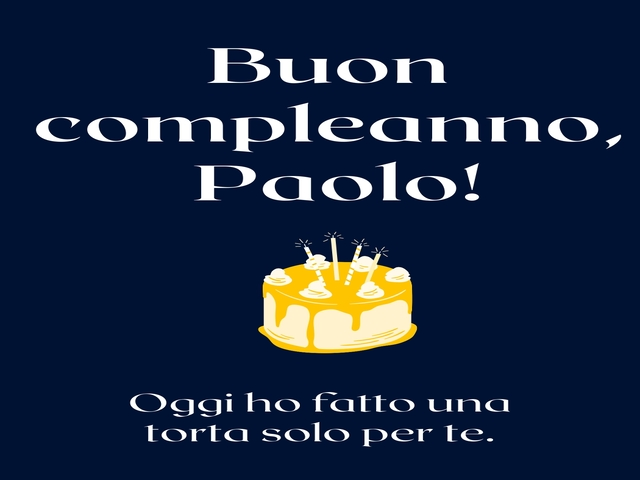 compleanno paolo