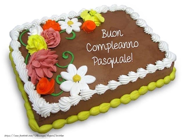 compleanno pasquale torta